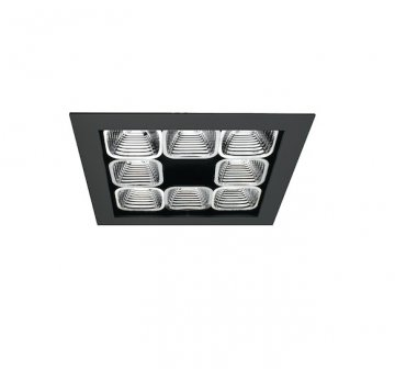 Vortex Square Recessed Fixed Downlight
