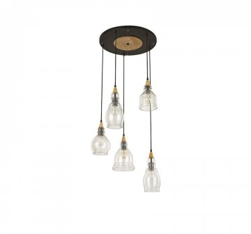 Gretel 5 Light Cluster Pendant